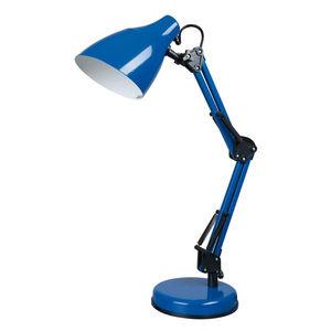 Corep - dexter - lampe de bureau bleu | lampe à poser core - Lampe De Bureau