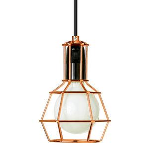 Design House Stockholm - work lamp - suspension/lampe baladeuse cuivre | la - Lampe À Poser