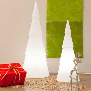 8 Seasons Design - shining tree - lampe à poser intérieur/extérieur b - Décoration De Noël