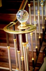 IGS d�co - strass de swarovski - Boule D'escalier
