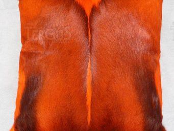Tergus - springbok teinté - Coussin Carré
