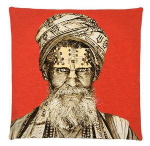 FS HOME COLLECTIONS - bandu baba - Coussin Carr�
