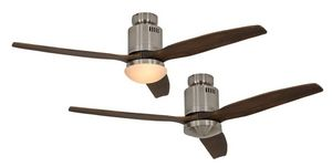 EVT/ Casafan - Ventilatoren Wolfgang Kissling - ventilateur de plafond dc, moderne 132 cm chrome b - Ventilateur De Plafond