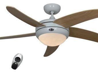 EVT/ Casafan - Ventilatoren Wolfgang Kissling - ventilateur de plafond, design silencieux 132 cm l - Ventilateur De Plafond