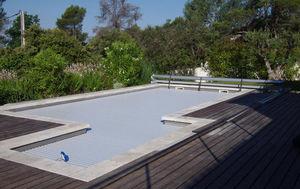 Silver Pool - pourrièrres - Couverture De Piscine Automatique