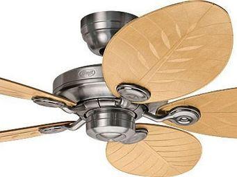 Hunter - ventilateur de plafond pour extérieur ip44, alumin - Ventilateur De Plafond