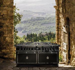 Officine Gullo - cooking suite p70 nerissima - Cuisinière