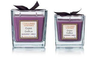 Collines De Provence - cassis & cam�lia- - Bougie Parfum�e
