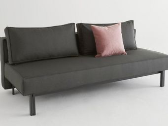 INNOVATION - innovation canape lit design sly noir convertible - Banquette Clic Clac