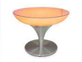 Moree - lounge m 45 led accu outdoor - Table Basse Lumineuse