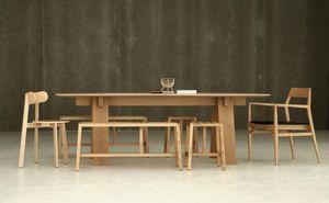 BRANCA - trave - Table De Repas Rectangulaire