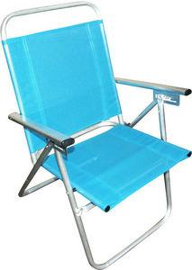 HEVEA - fauteuil inclinable de plage en aluminium camelia - Fauteuil De Jardin