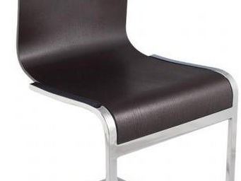 KOKOON DESIGN - chaise design soft wengé - Chaise