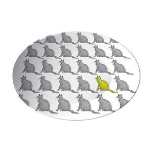 la Magie dans l'Image - assiette chats groupés - Assiette De Présentation