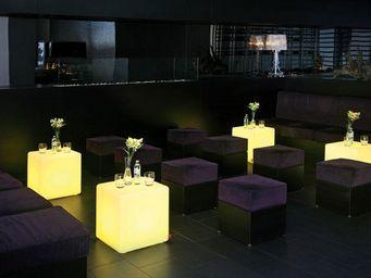 Moree - cube led - Table Basse Lumineuse