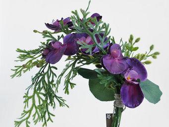 NestyHome - chute orchidée violine - Fleur Artificielle