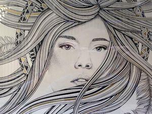 A&M - déesse - Fresque