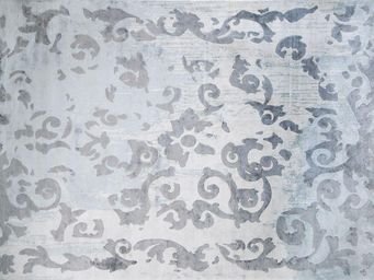 EDITION BOUGAINVILLE - mazarin vintage arty celadon - Tapis Contemporain