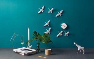 HAOSHI DESIGN - migrantbird - Horloge Murale