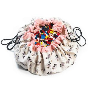 PLAY and GO - minnie gold - Sac À Jouets
