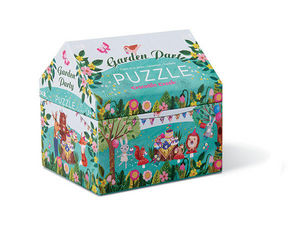 BERTOY - 24 pc mini double fun garden party - Puzzle Enfant