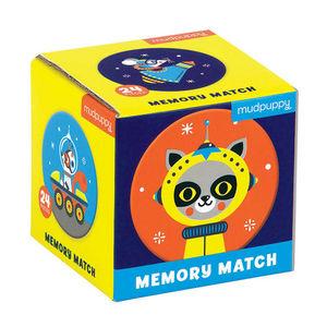 BERTOY - mini memory game outer space - Jeux Éducatifs
