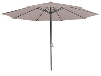 CEMONJARDIN - parasol droit taupe - Parasol Télescopique
