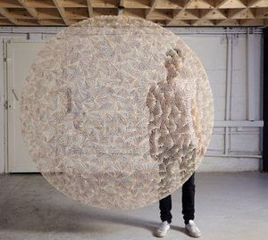 ROWAN MERSH - -asabikeshiinh ii - Sculpture