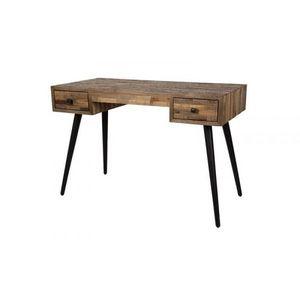 Mathi Design - bureau bois vintage hut - Bureau