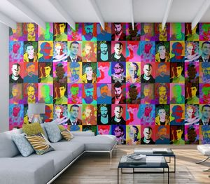 IN CREATION - hommes en couleurs - Papier Peint Panoramique