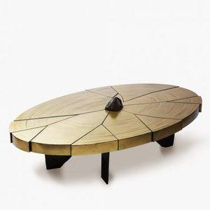 ERWAN BOULLOUD -  - Table Basse Ovale
