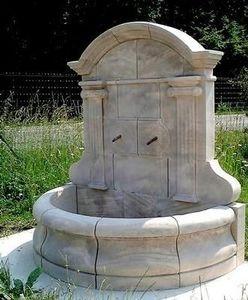 Esprit Antique - fontaine murale en pierre - Fontaine Murale D'extérieur
