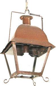 Lanternes d'autrefois  Vintage lanterns - lanterne à suspendre isle saint louis en fer forgé - Lanterne D'extérieur