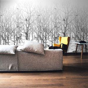 ISIDORE LEROY - forêt enchatée - Papier Peint Panoramique