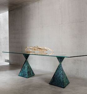 Tom Faulkner - avalon - Table De Repas Rectangulaire