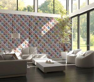 IN CREATION - carrés colorés - Papier Peint Panoramique