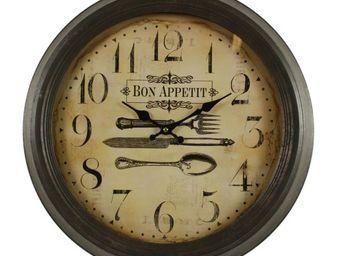 DECORATION D'AUTREFOIS - ancienne - Horloge Murale