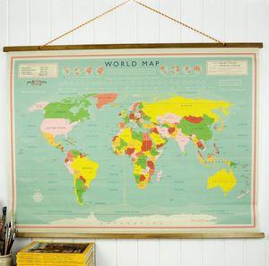 REX LONDON -  - Carte Géographique