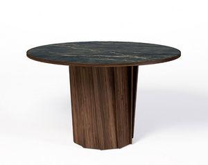 DASRAS - volute - Table De Repas Ronde