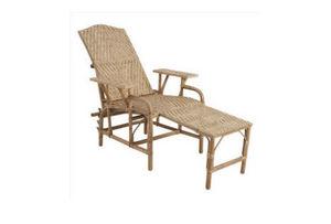 Fd Mediterranee - pliable - Chaise Longue De Jardin