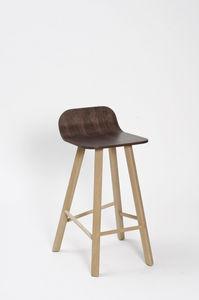 COLE - tria stool low back - Chaise Haute De Bar