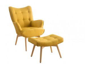 Vente-Unique.com - fauteuil esben - Fauteuil