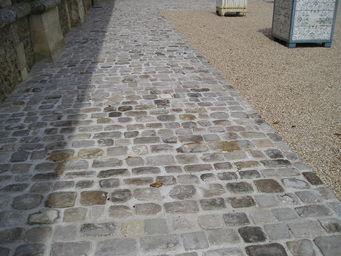 Pavés de Rue - grès ancien - Pavé D'extérieur