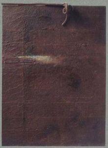 Francois Cante Pacos - mémoire de rouille - Composition Abstraite
