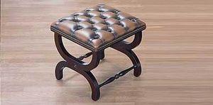Springvale Leather -  - Footstool