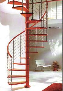 SK-SYSTEME - red line - Escalier H�lico�dal