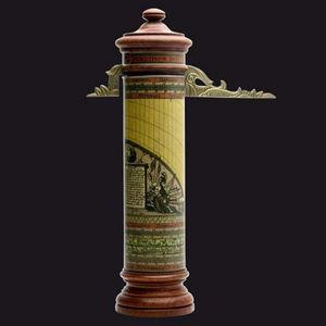 HEMISFERIUM - horloge cylindrique - Horloge D'extérieur