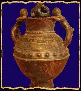 Le grenier de Vauban - poterie warengo  - Potiche