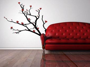 WEEDECO - arbre � coeur - Sticker