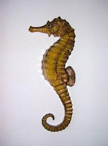 cap vert - hyppocampe - Sculpture Animali�re